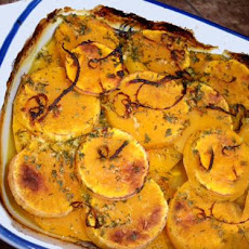 Baked Butternut Squash With Orange
