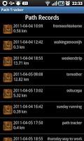 Screenshot of Path Tracking