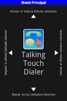 Screenshot of TT_Dialer-Talking Touch Dialer