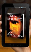 Screenshot of Dean Koontz AR Viewer