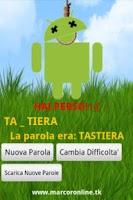 Screenshot of Impiccato PRO in Italiano