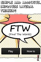 Screenshot of FTW (Find The Words)