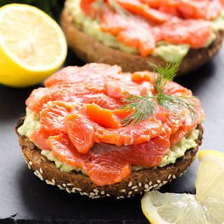 Clean Eating Salmon Lox