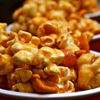 salted caramel popcorn cookies and cups light brown sugar popcorn ...