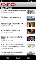 Screenshot of POLITICO