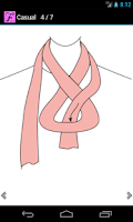 Screenshot of Scarf Fashion Designer