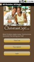 Screenshot of Christian Dating Cafe