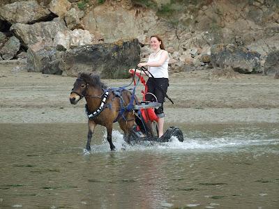 Hilary and Henry, Mothercombe Beach, Devon