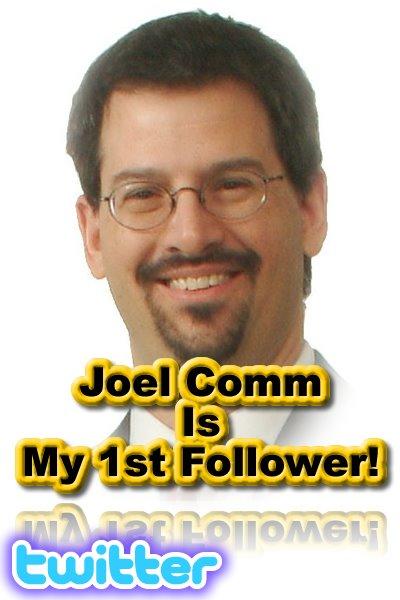 Joel Comm, Twitter, AdSense Secrets, Next Internet Millionaire