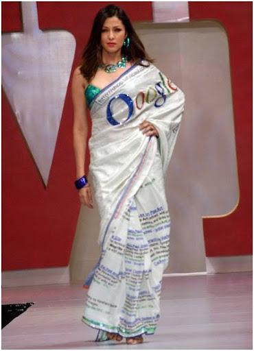 google sari india