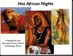 Hot African Nights postcard