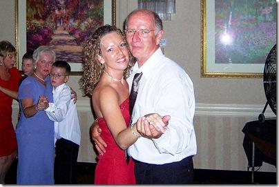 sara dad dancing