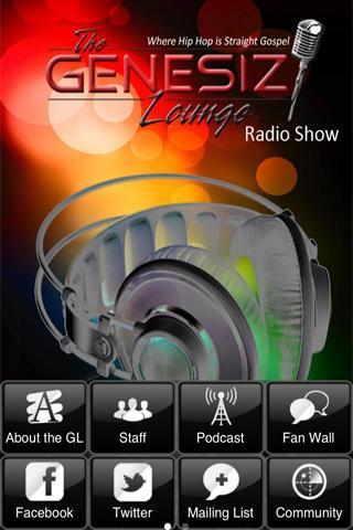 The Genesiz Lounge Radio Show