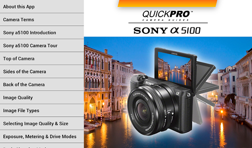 Sony a5100 from QuickPro - screenshot