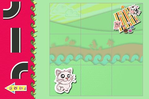 Animal Picnic-Puzzles for Kids