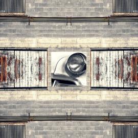 one headlight by Todd Reynolds - Digital Art Abstract