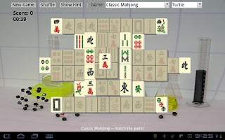 Screenshot of Mahjong Chem