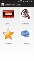 Screenshot of Cartelera Cine España