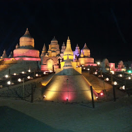 Remal International Festival by Catherine Arguelles - News & Events Entertainment ( remal international  festival 2014, sand sculpture, misref international fairground, kuwait )