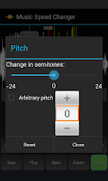 Screenshot of Music Speed Changer Lite