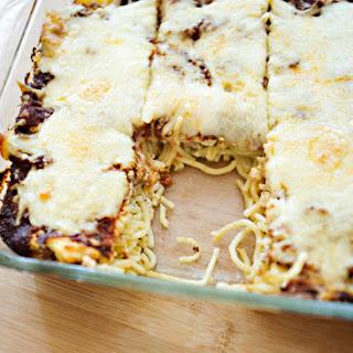 Leftover Spaghetti Baked Spaghetti Recipes