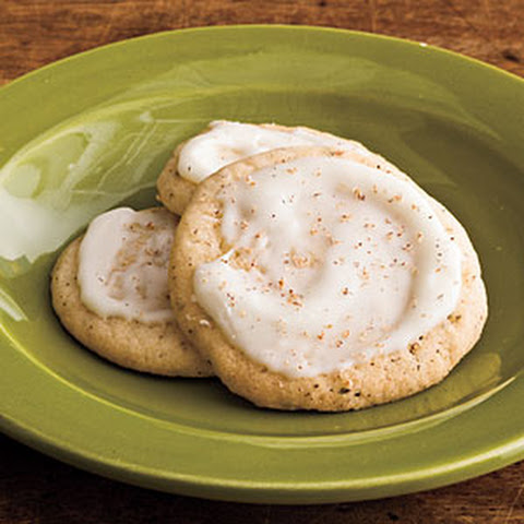 Chai Tea Eggnog Cookies