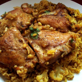 Maqluba – Up Side Down (Chicken & Rice)