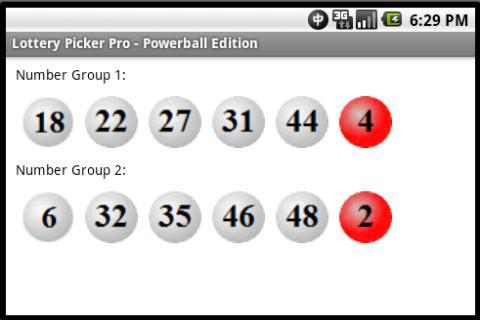 Lottery Picker Pro Powerball