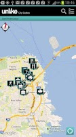 Screenshot of Unlike City Guides
