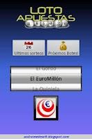 Screenshot of LotoApuestas Pro