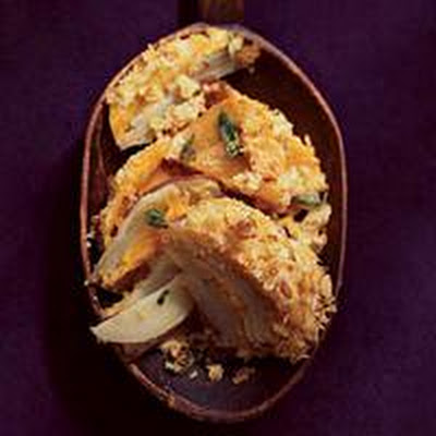Two-Potato-and-Mascarpone Gratin