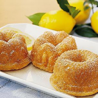 Mini Lemon Bundt® Cakes