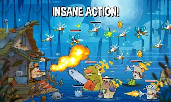 Screenshot of Swamp Attack