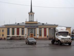 La gare de Syktyvkar.