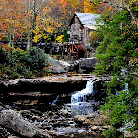 WVA grist Mill by Dennis Rubin - Landscapes Travel ( phtographed, mill, grist, wva, friends, 2010, trip, wv,  )