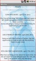 Screenshot of Rita Ora