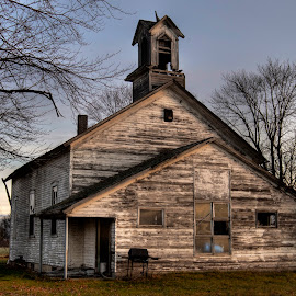 Church on  Ridley by Nicole Baumchen - Buildings & Architecture Decaying & Abandoned