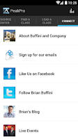 Screenshot of Buffini & Co Peak Producers