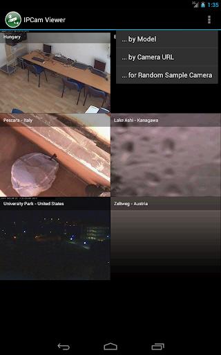 IPCam Viewer - screenshot