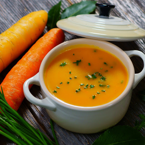 James and Kimberly Van Der Beek's Carrot, Ginger, Turmeric Soup