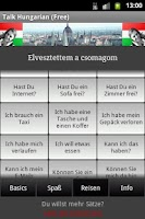 Screenshot of Talk Hungarian (Free)
