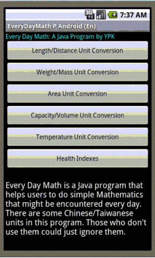 Every Day Math En