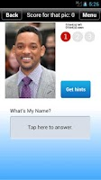 Screenshot of Find My Name - Celebrity Quiz