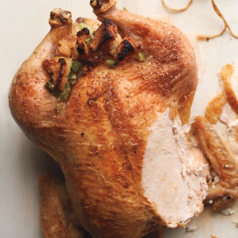 Roast Chicken with Sourdough Stuffing