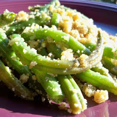 Baked Garlic Green Beans