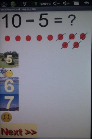 Kids Maths Minus Elementary
