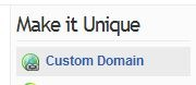 Mofuse custom domain name