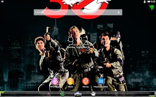 Screenshot of XPERIA™ Ghostbusters theme