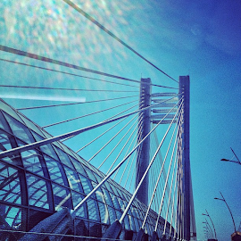 by Malinetescu Georgian - Buildings & Architecture Bridges & Suspended Structures ( igro, igers, igersresita, igoftheday, igdaily, jj, iphonesia, iphonesian, bucuresti, bridge, bridges,  )