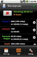 Screenshot of Workaholic